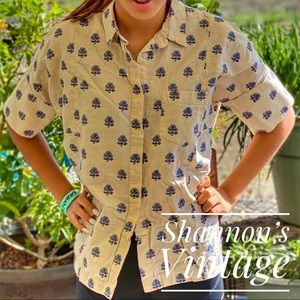 Madewell XS button down A28